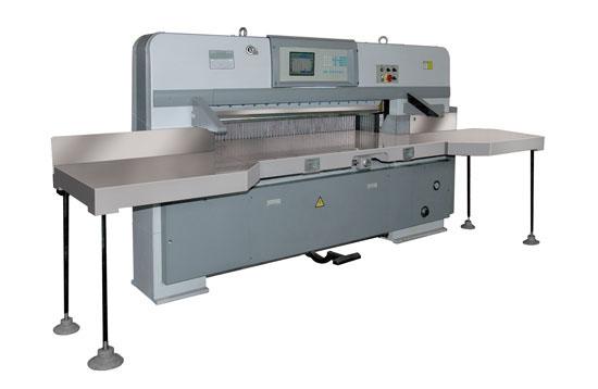 瑞安星威达QZYW-1700CD程控双液压自动切纸机