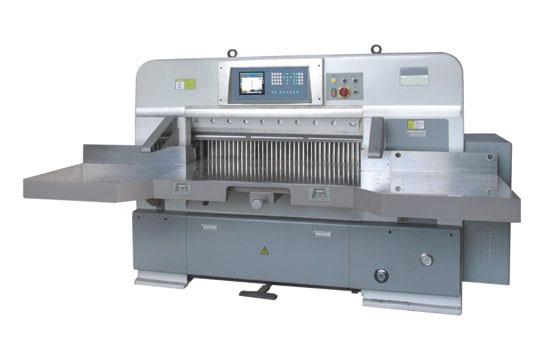 瑞安星威达QZYW115OCT程控双液压自动切纸机